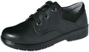 Typická školní obuv