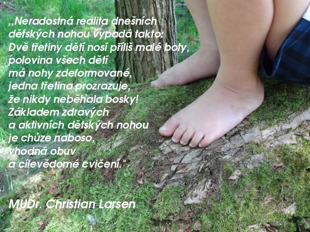 Nohy naboso